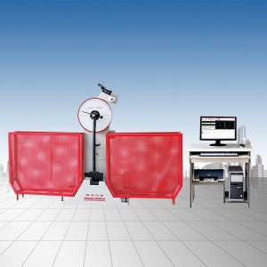 JBW-300B-500B微机控制半自动冲击试验机